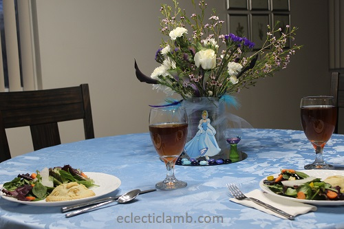 Make The Cut >> Cinderella Themed Dinner | Eclectic Lamb