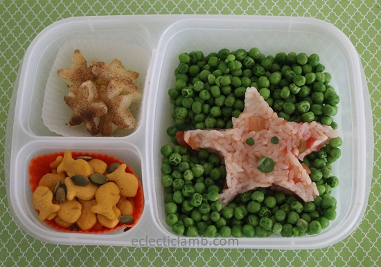 Starfish Salsa Rice Lunch