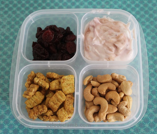 Yogurt Cereal Snack Box