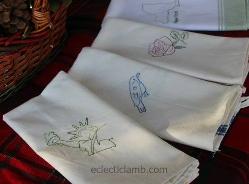 All NY Stitched Towels
