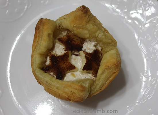 Apple and Ricotta Puffed Pastry Tarts