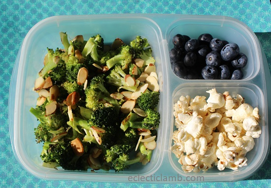 Lemon Broccoli with Lemon Popcorn Lunch.jpg