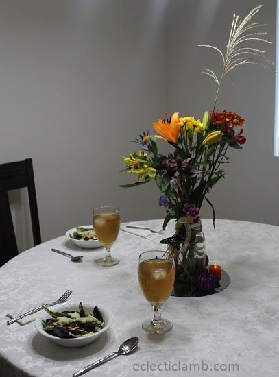 Halloween Dinner Table