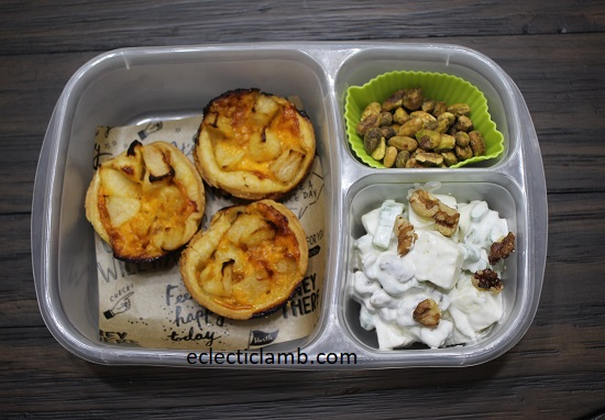 Cheddar Apple Tarts Apple Celery Salad Bento Lunch.jpg