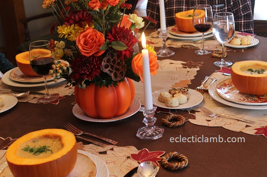 Thanksgiving Table with Soup in Pumpkins.jpg