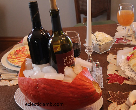 wine bucket squash