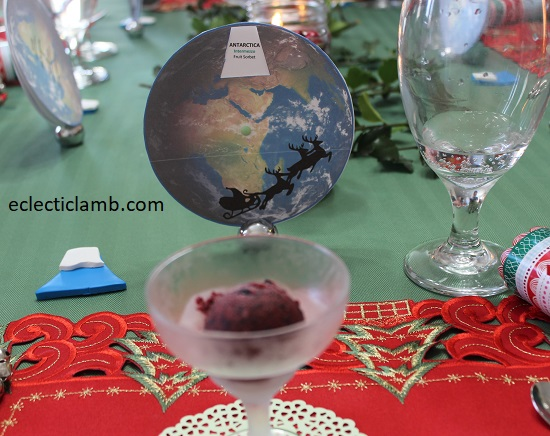 7 Continents Dinner Antartica Course