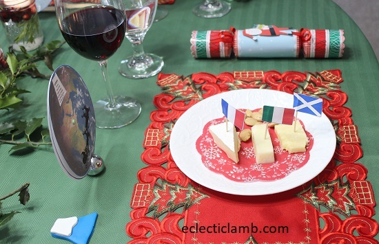 Europe Cheese Plate