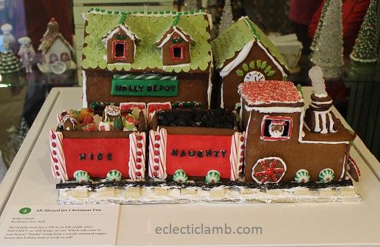 Christmas Train Gingerbread