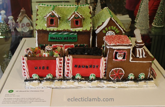 Christmas Train Gingerbread