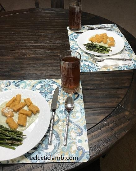gnocchi dinner