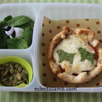 Sheep Themed Tart for Lunch