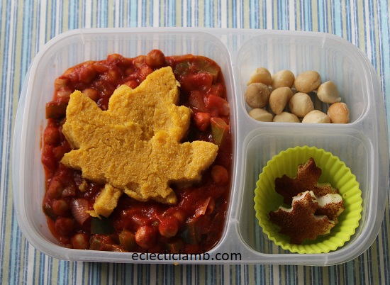 Leaf Polenta Lunch