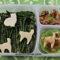 Cat Cheese & Asparagus Lunch