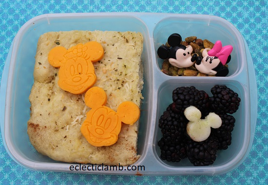 Mickey Minnie Cheese and Bread