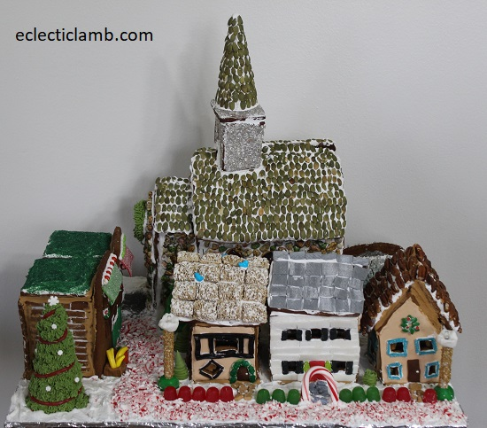 Gingerbread Village Front