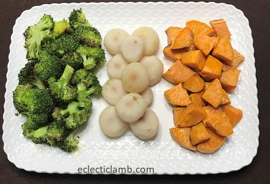 Irish Flag Vegetables