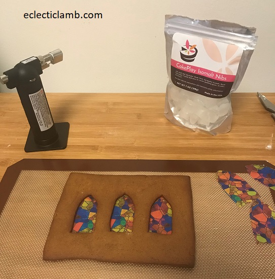 Making Stained Glass Windows Church Gingerbread