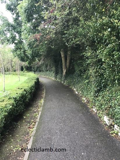 Sidewalk in Kenmare