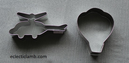 Air Transportation Cookie Cutters
