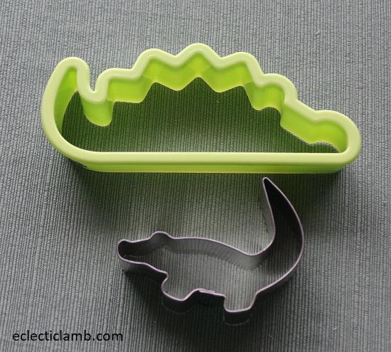 Alligator Cookie Cutters
