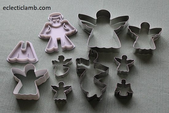 Angels Cookie Cutters