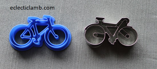 Bicycle Cookie Cutters