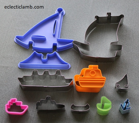 Boats Cookie Cutters