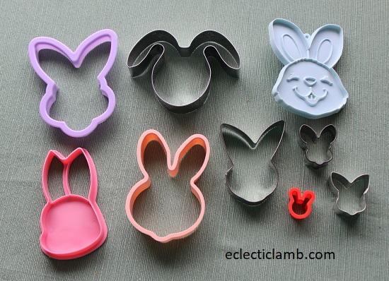 Bunny Head Cookie Cutters