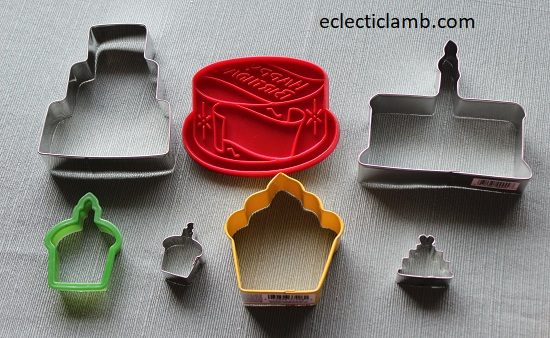 Cake Cookie Cutters