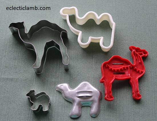 Camel Cookie Cutters