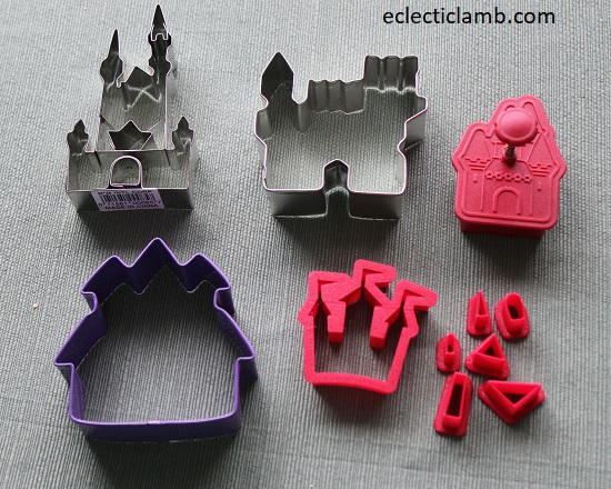 Castle Cookie Cutters