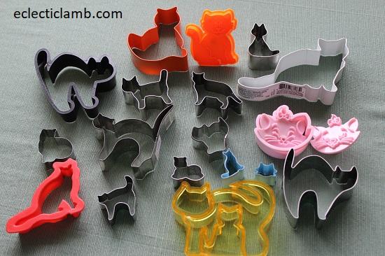 Cat Cookie Cutters