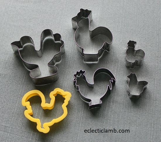 Chicken Cookie Cutters