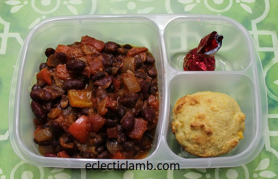 Chili and Cornbread Freezer Meal