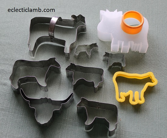 Cow Cookie Cutters