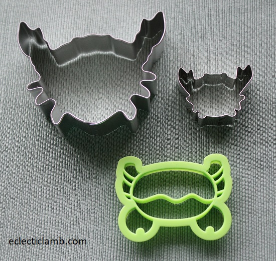 Crab Cookie Cutters