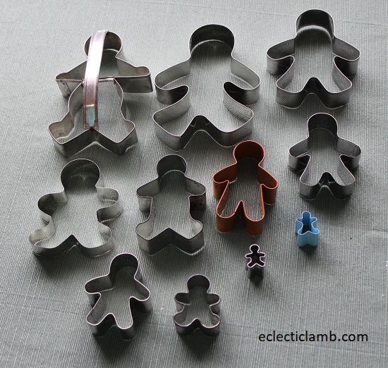 Gingerbread Man Cookie Cutters
