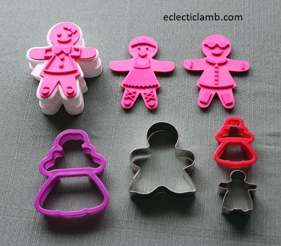 Gingerbread Woman Cookie Cutters