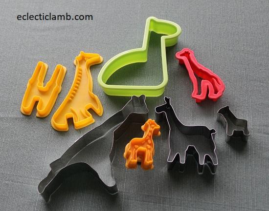 Giraffe Cookie Cutters