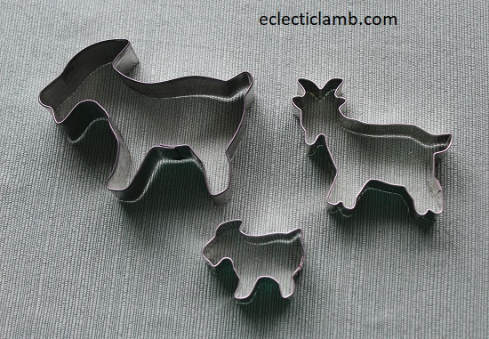 Goat Cookie Cutters