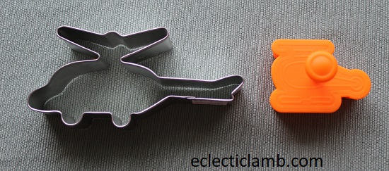Helicopter Cookie Cutters