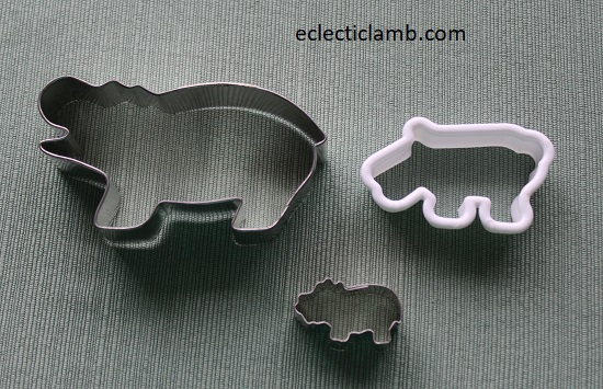 Hippo Cookie Cutters