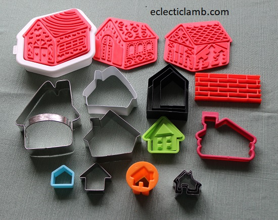 Houses Cookie Cutters