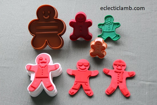 Imprint Gingerbread Man Cookie Cutters
