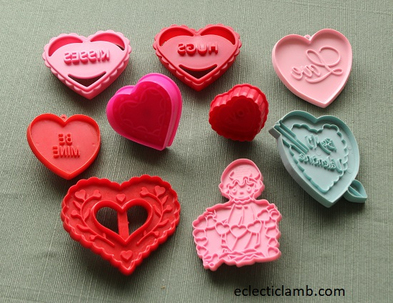 Imprint Heart Cookie Cutters