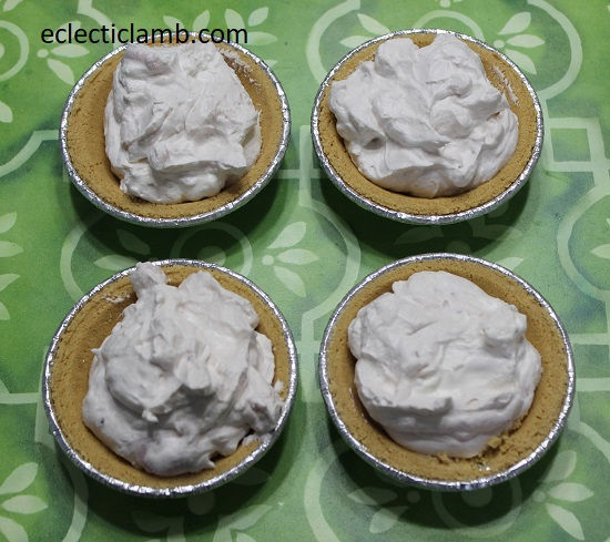 Individual Yogurt Cream Pies