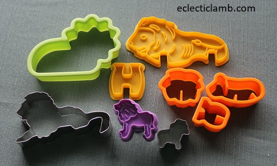 Lion Cookie Cutters