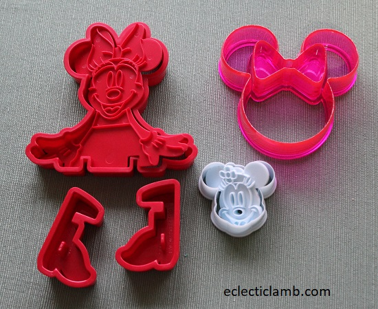 Minnie Mouse Cookie Cutters