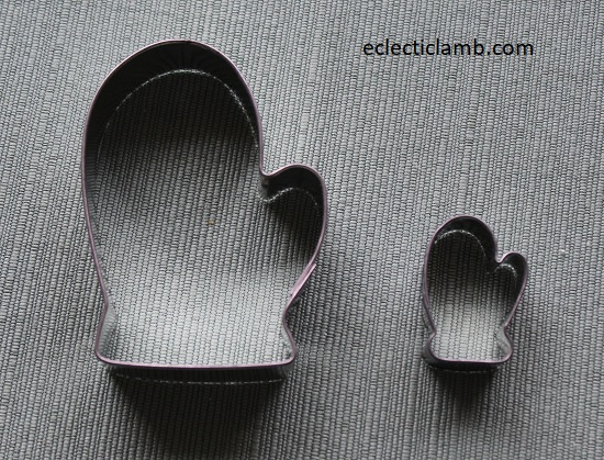 Mittens Cookie Cutters